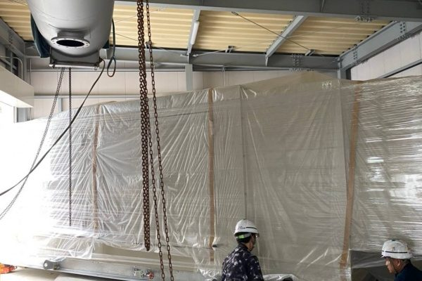 【千葉県山武市】発電機 搬入・据付